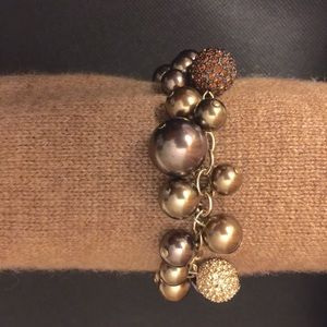 """Pearl"" Cluster Bracelet"